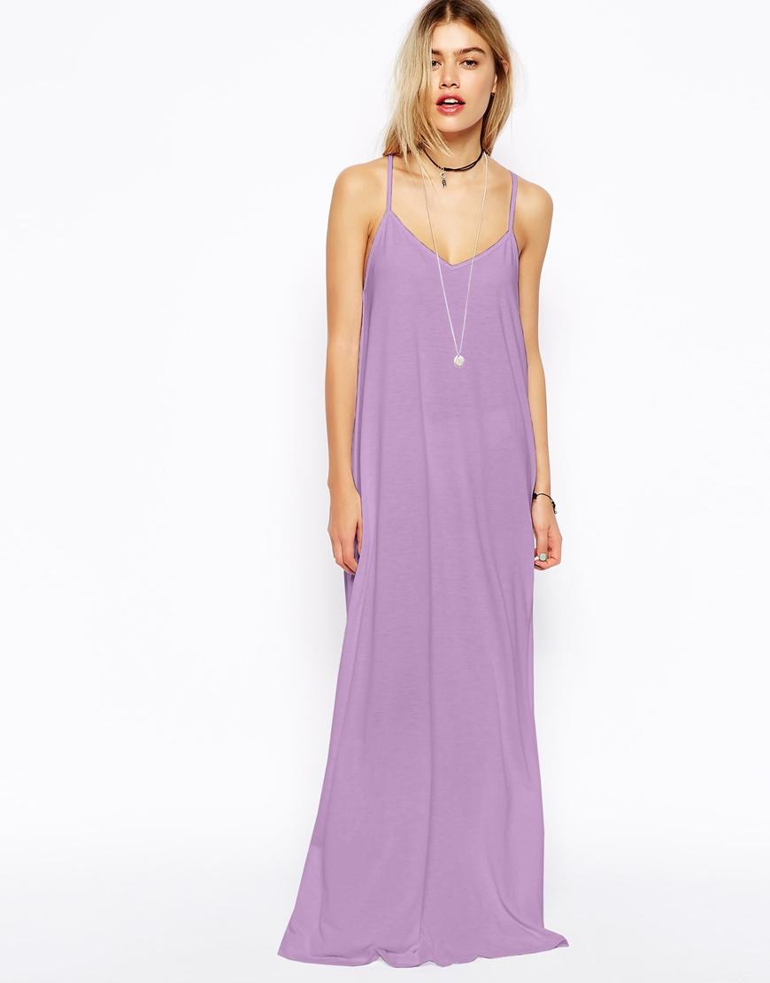 Lilac Maxi Dresses