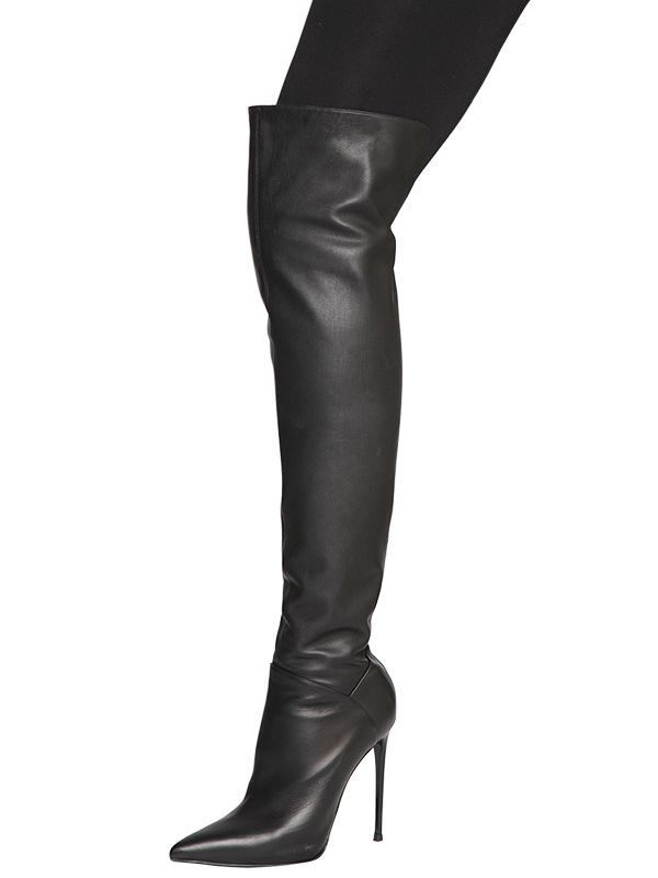 over the knee boots - Black Le Silla 1z3ZzY