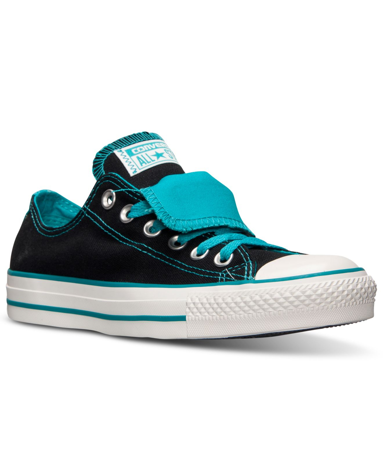 240d8e3432c0 Lyst - Converse Women S Chuck Taylor All Star Double Tongue Casual ...