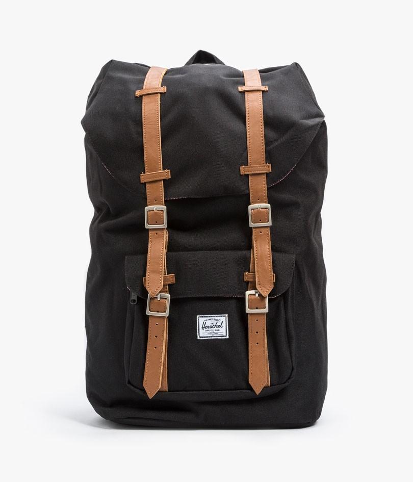 herschel supply co little america backpack in gray for. Black Bedroom Furniture Sets. Home Design Ideas