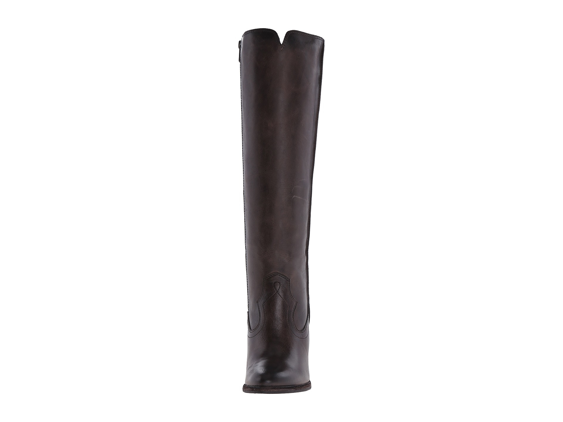 a24c1d133d8 Lyst - Frye Cece Seam Tall in Gray