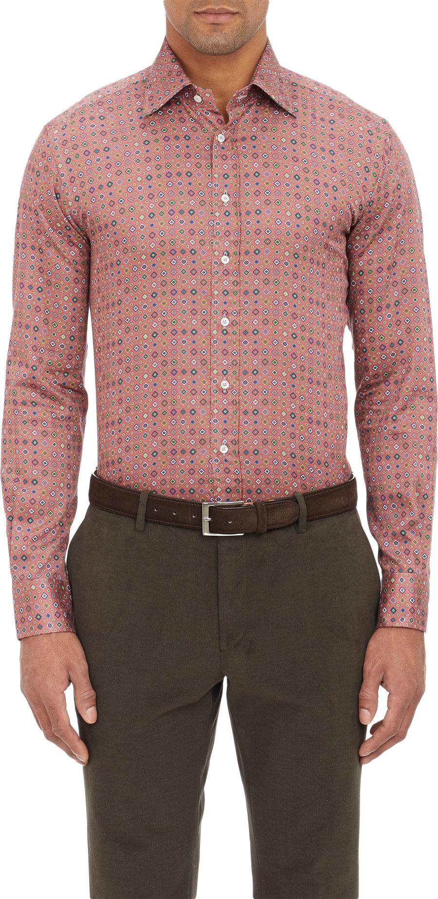 Lyst etro paisley shirt for men for Etro men s shirts