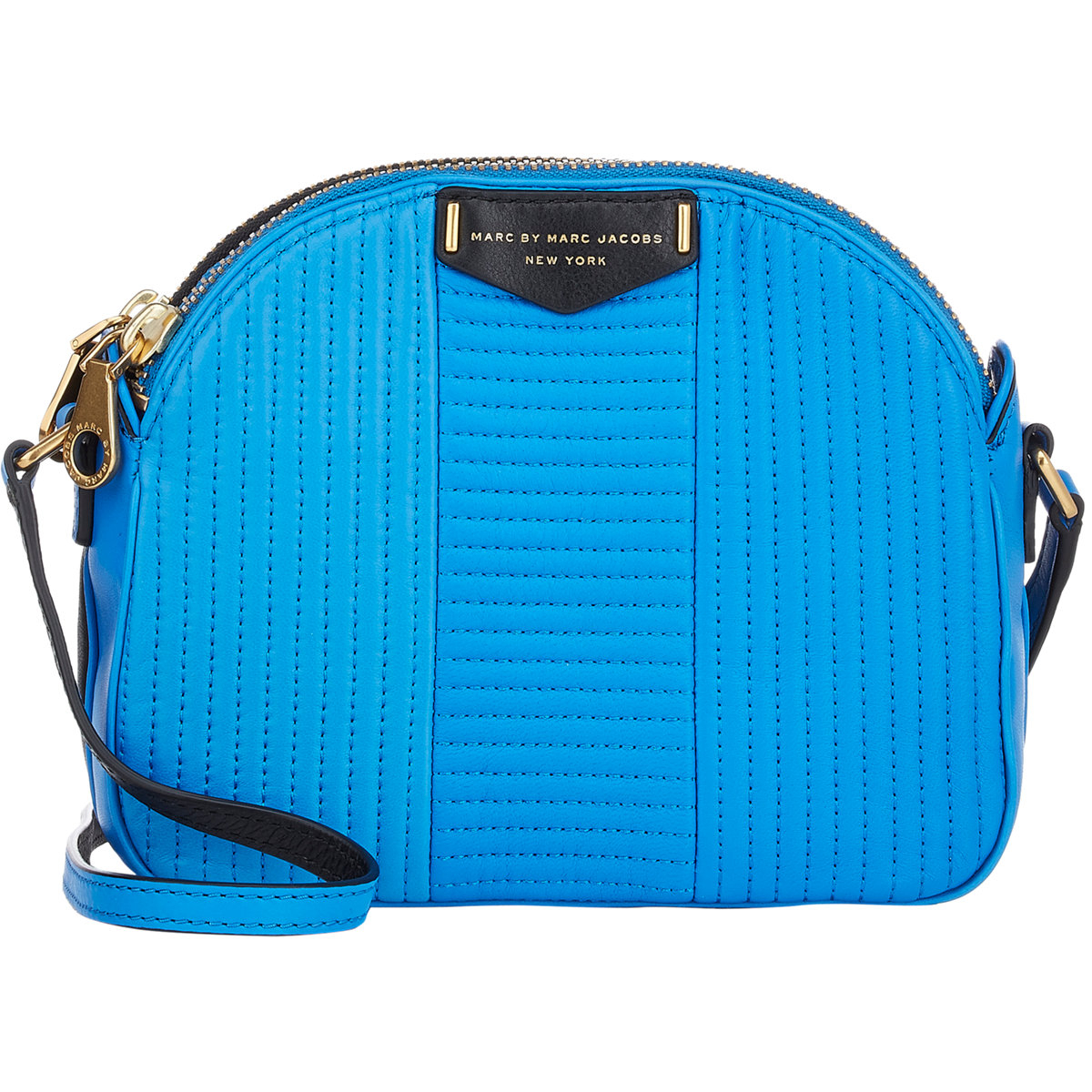 2fe48eae5b5c Lyst - Marc By Marc Jacobs Quilted Downtown Lola Crossbody-blue in Blue