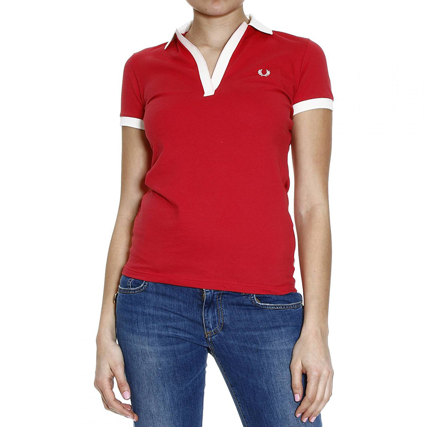 fred perry t shirt polo piquet half sleeve with contrast