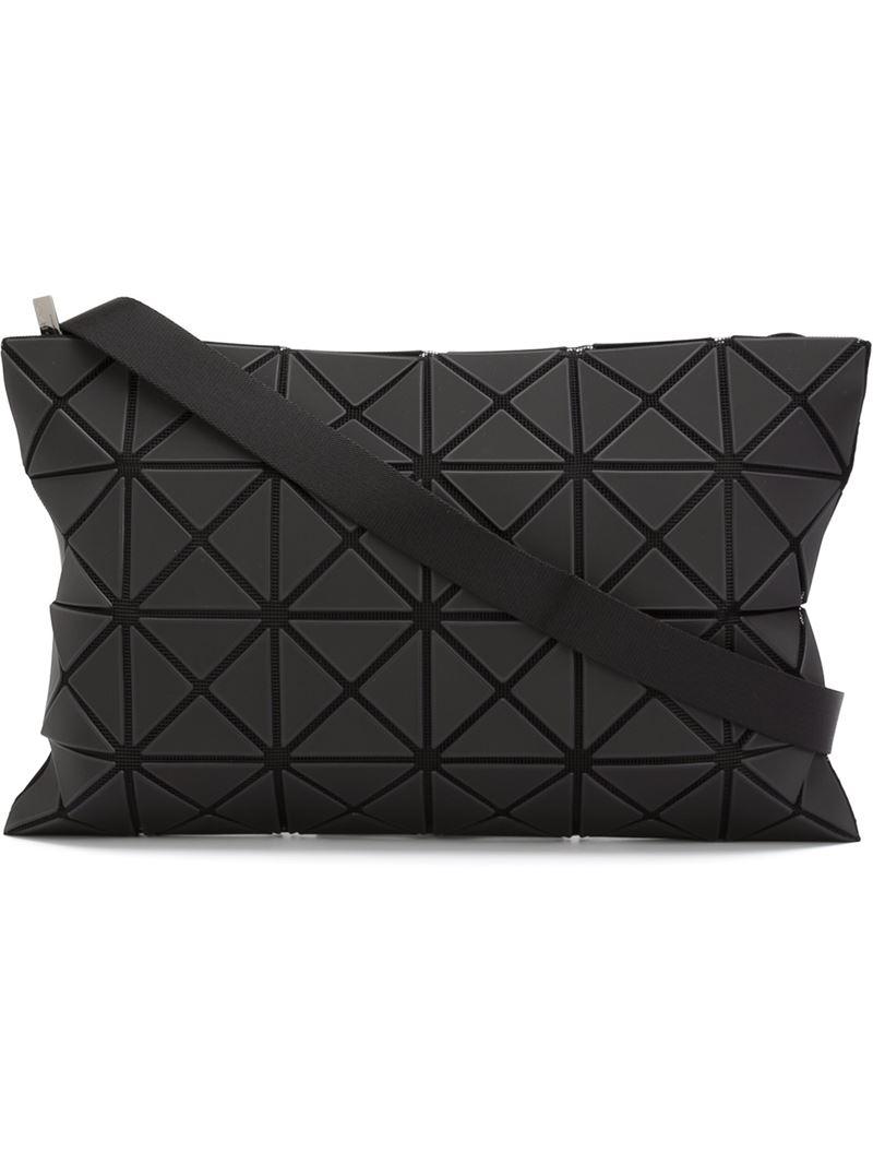 8c9a3ed30b76 Bao Bao Issey Miyake  lucent  Crossbody Bag in Black - Lyst