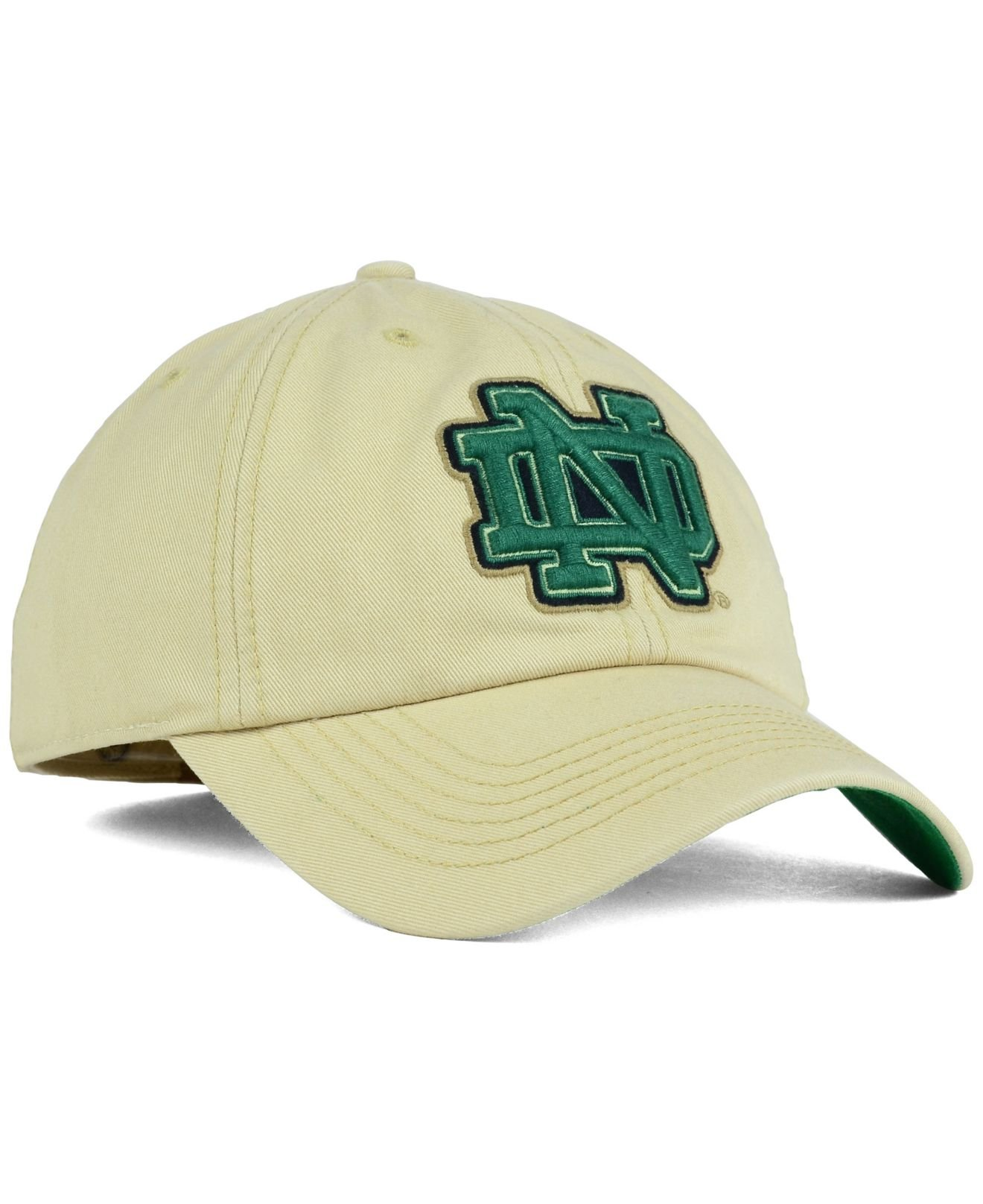73ab5c79440 Lyst - 47 Brand Notre Dame Fighting Irish Franchise Cap in Natural ...