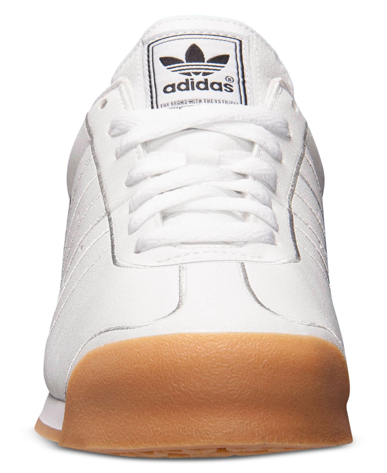 timeless design b6518 6dfd3 Lyst - adidas Men s Samoa Casual Sneakers From Finish Line in White for Men