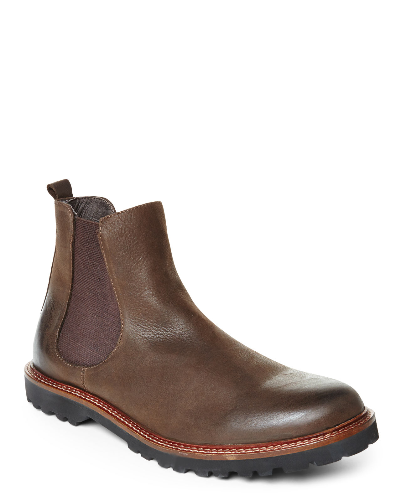 connection cognac fender boots in brown for lyst