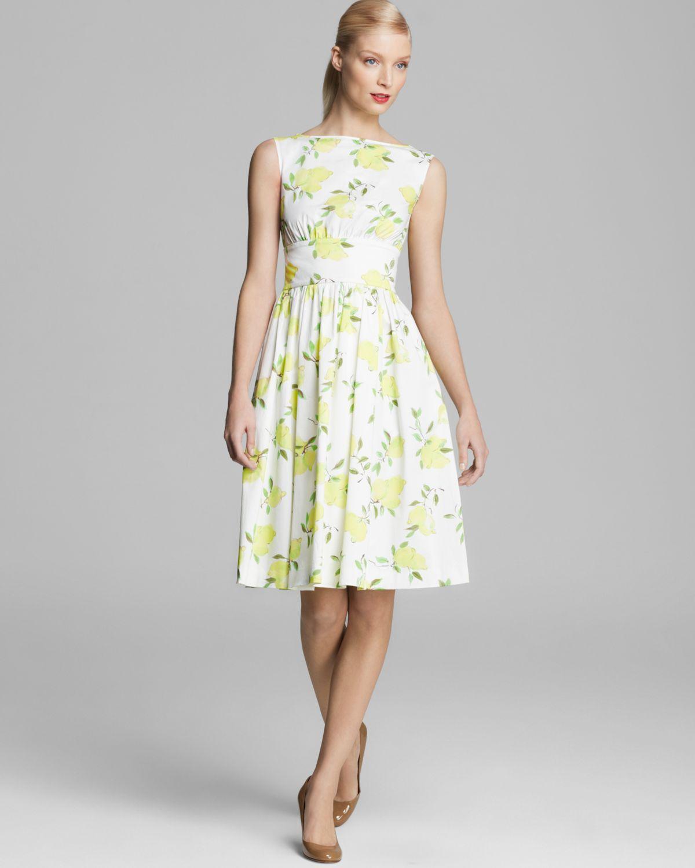 Lyst Kate Spade New York Lyric Dress In Yellow