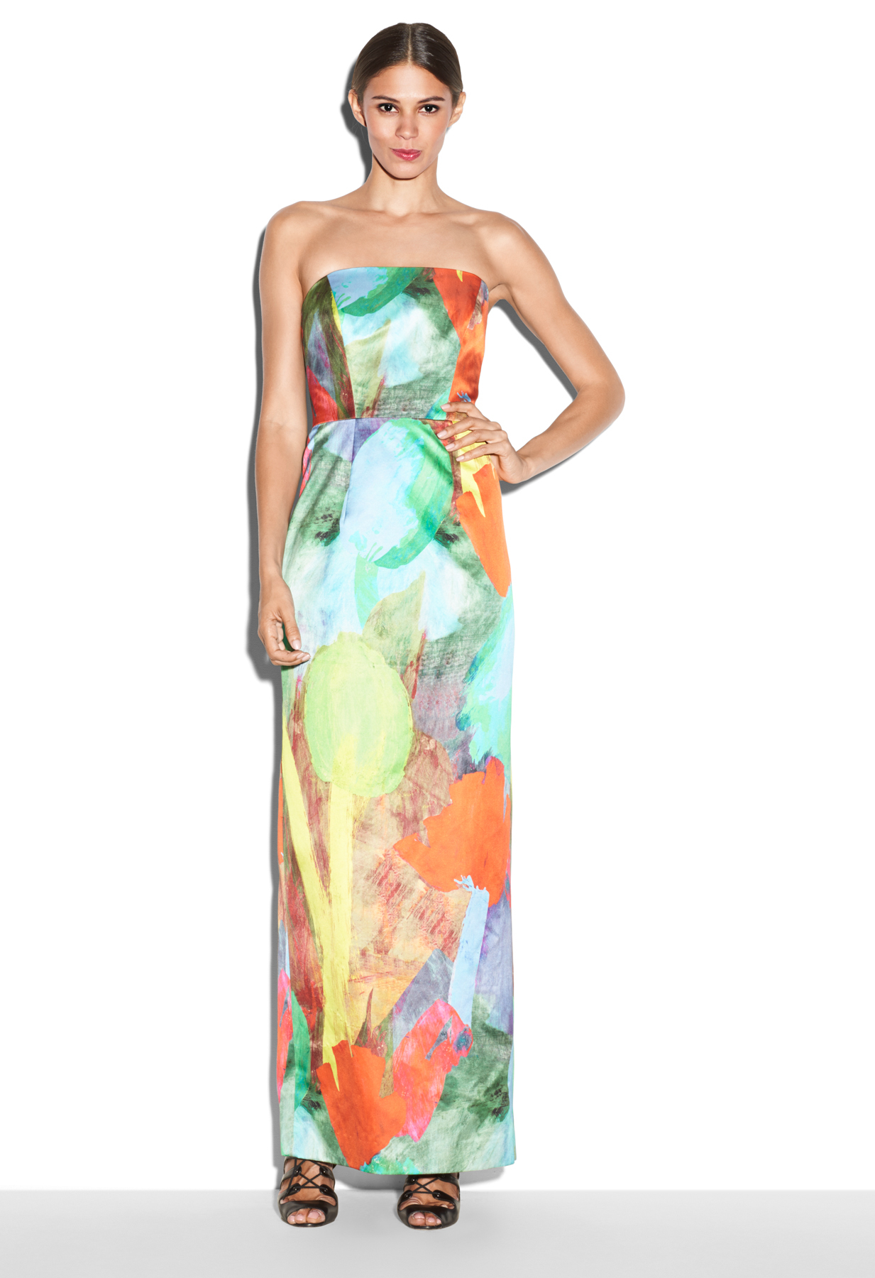 Lyst - Milly Lyla Bown Gown