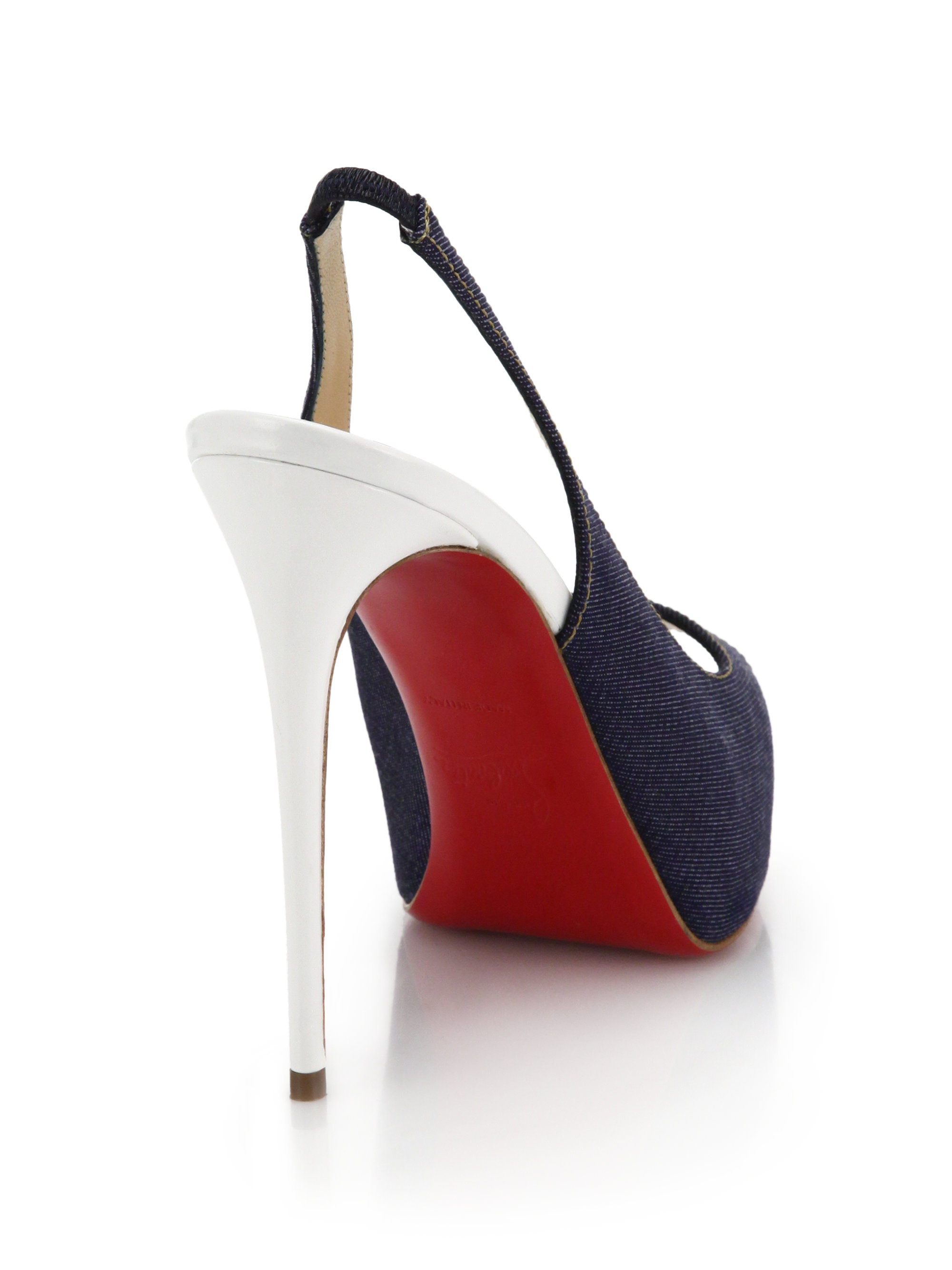 quality design 47e49 544c5 Artesur » christian louboutin Private Number' peep-toe pumps ...