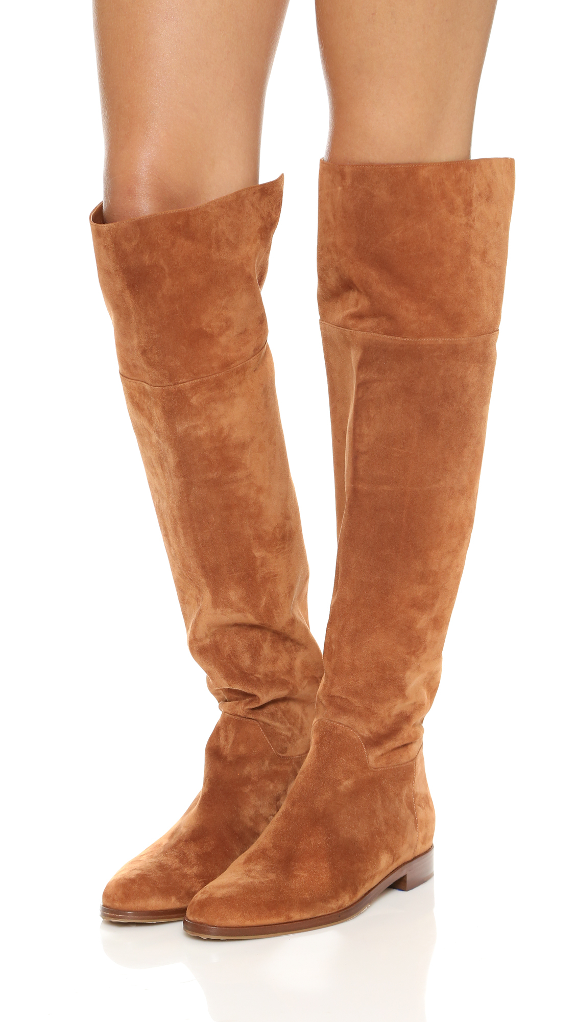 8efba8b34ed Lyst - Sergio Rossi Brixton Over The Knee Boots - Brown in Brown
