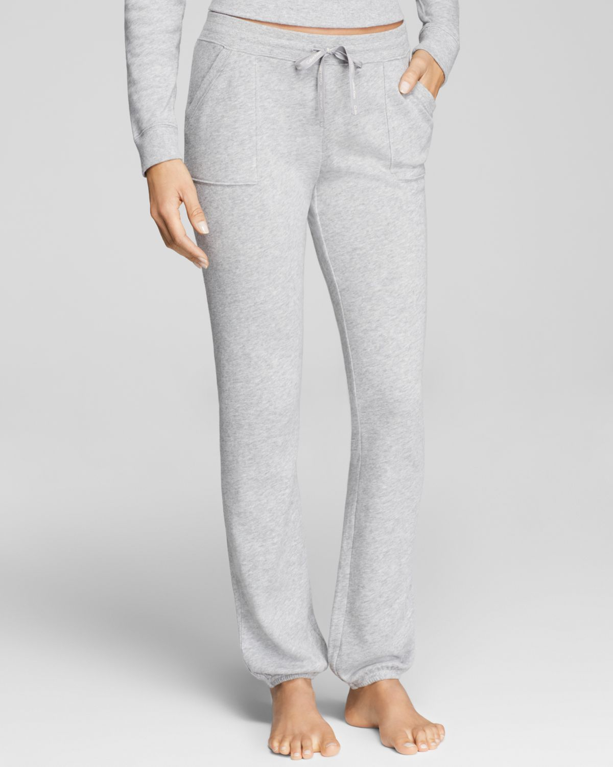 Lyst - Calvin Klein Cocoon Pajama Pants in Gray