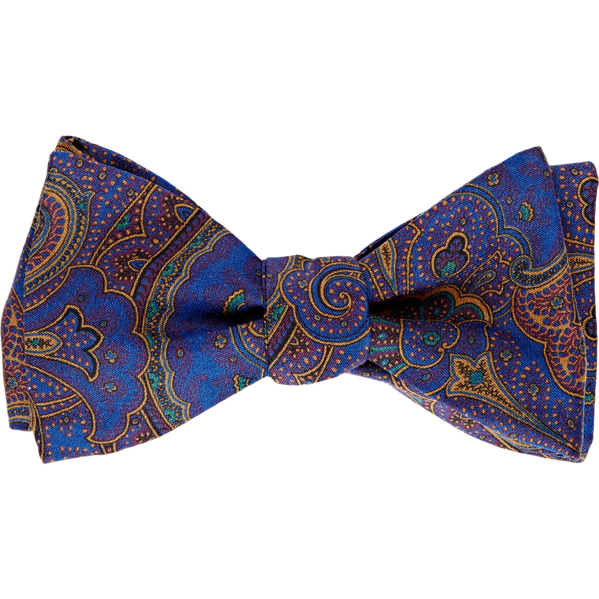 Shop our site for the biggest selection of ties and the highest quality out there. Whether you're looking for a cotton or silk style, we have you covered with our selection of paisley bow ties. Free shipping and returns on orders of $20 or more. Buy today and find your style.