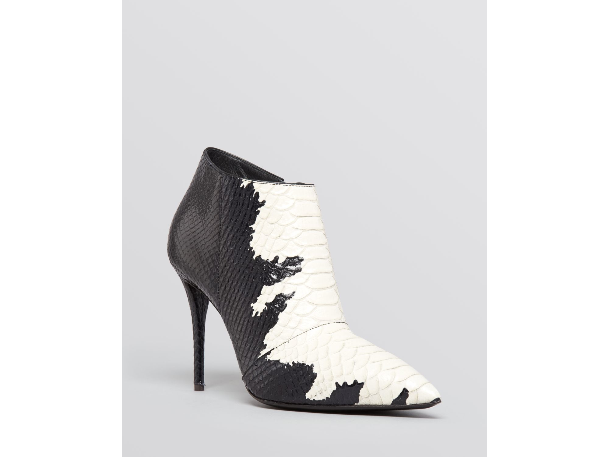 d2d44d56b58 Lyst - Giuseppe Zanotti Pointed Toe Booties - Yvette High Heel in Black