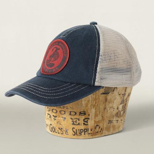 Lyst - RRL Mesh Trucker Hat in Black for Men 55c512c75ce