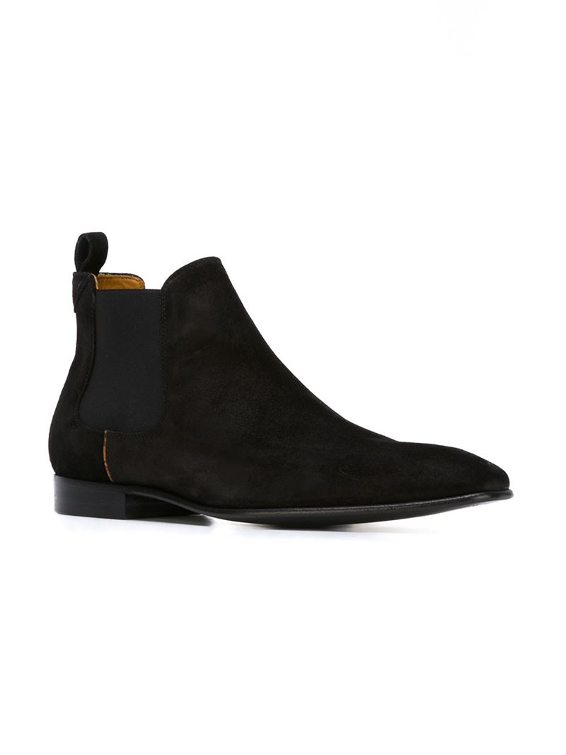 Lyst Paul Smith Falconer Chelsea Boots In Black For Men