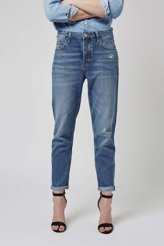 Topshop Womens MOTO Mid Hayden Boyfriend Jeans - 2018 Cheap Sale Cheap Usa Stockist Cheap Sale Big Sale Cheap Wide Range Of Cheap Sale e7htqVY