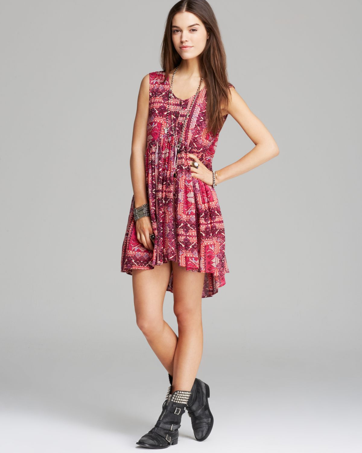 df707ff1d9 Free People Dress Take Me To Thailand in Red - Lyst