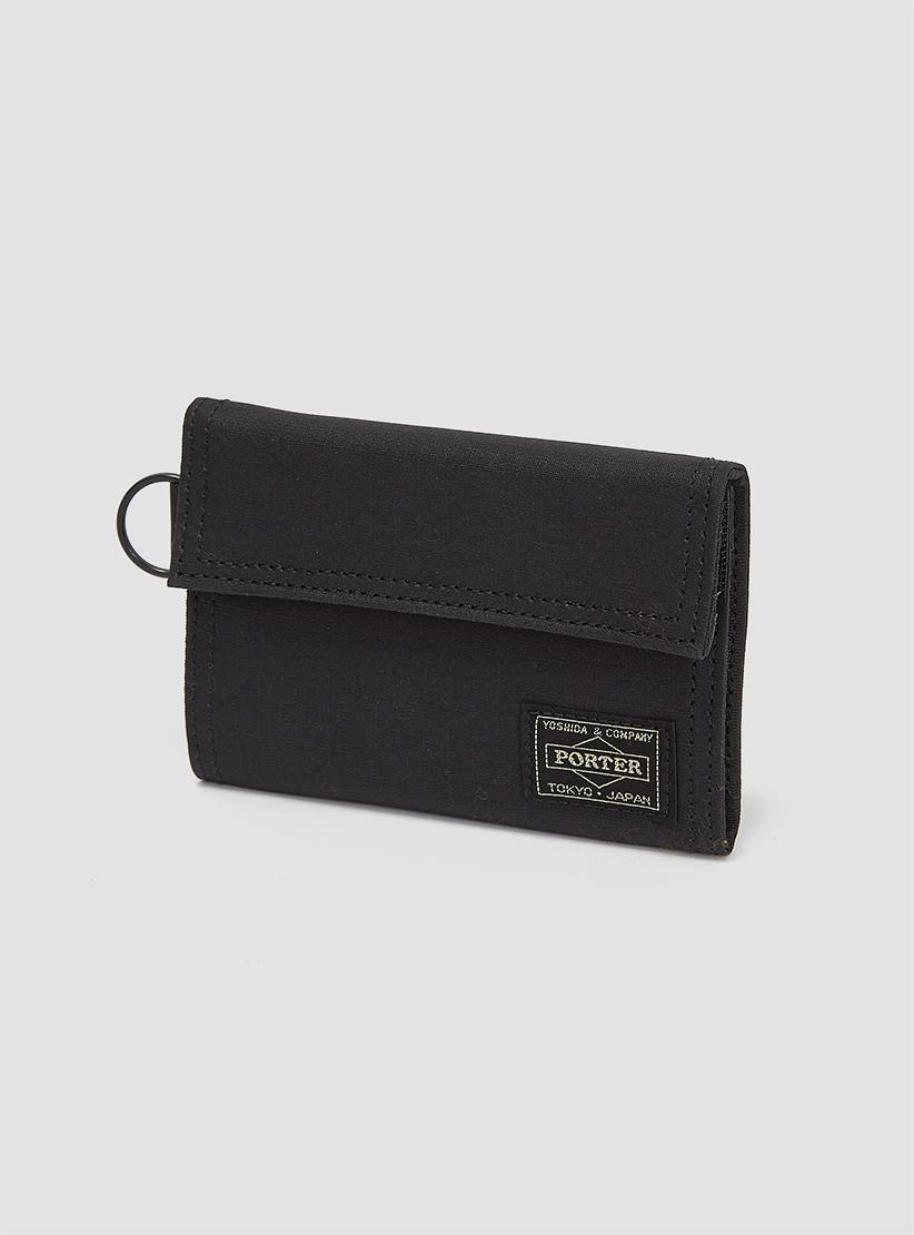 lyst porter type b cube wallet black in black for men. Black Bedroom Furniture Sets. Home Design Ideas