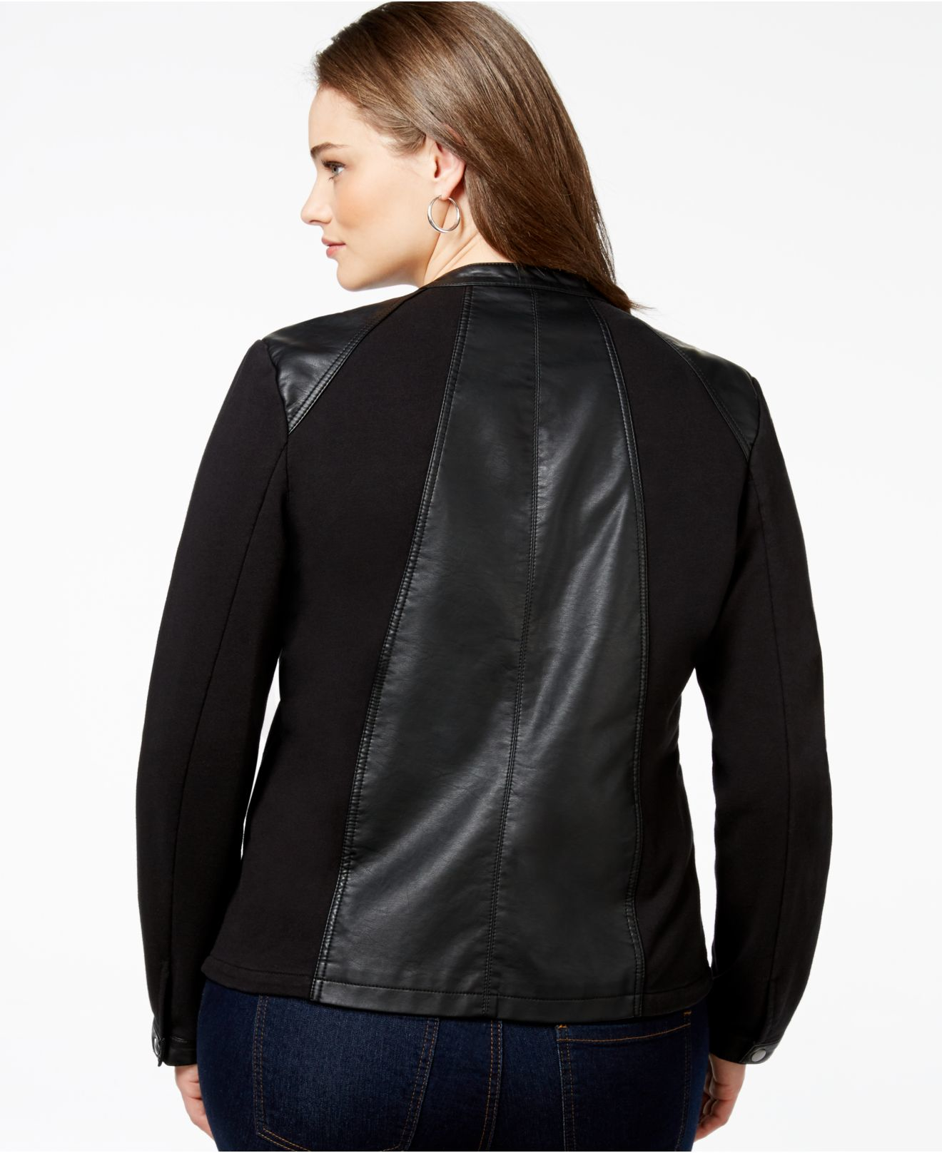 Shop Style & Co Faux-Suede Moto Jacket, Created for Macy's online at 10mins.ml Soft faux suede brings an upscale finish to your look with this modern take on the timeless moto jacket from Style & Co/5(45).