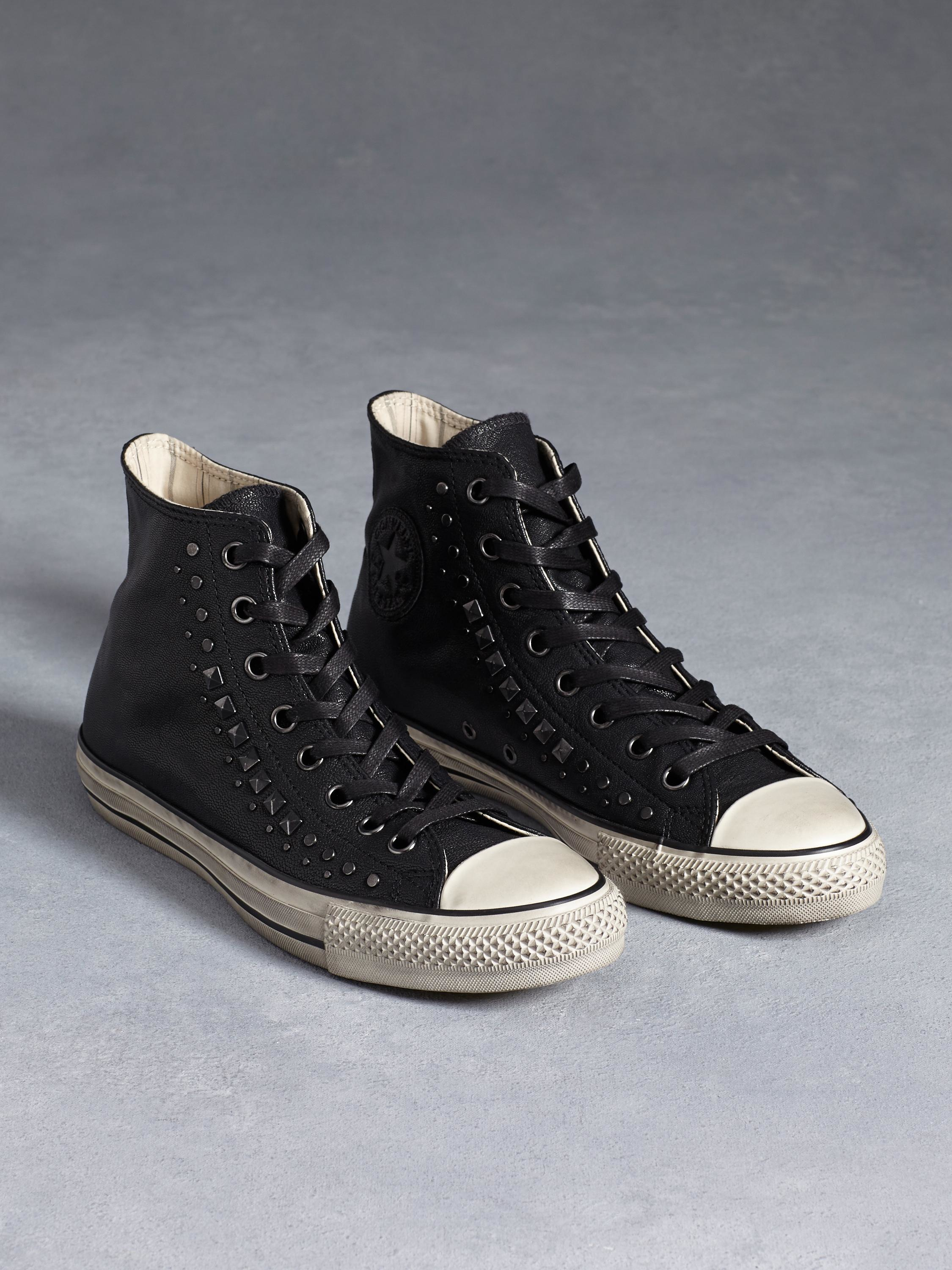 59f4a4c1f3c4 ... where can i buy john varvatos chuck taylor studded high top in black  for men lyst