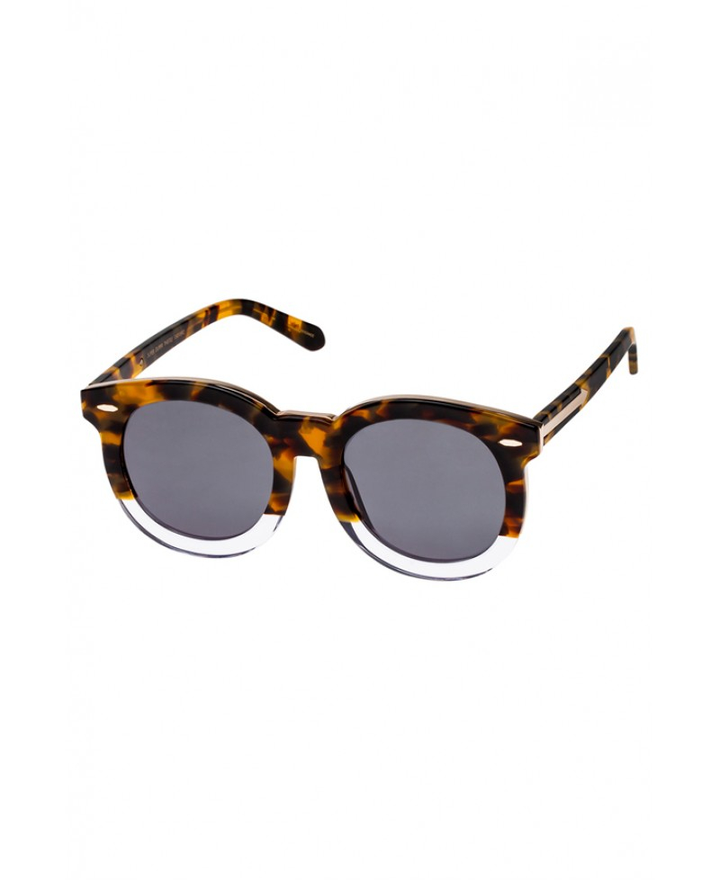 fa95ef3c961 Karen Walker Super Duper Thistle Tortoise Sunglasses in Metallic - Lyst