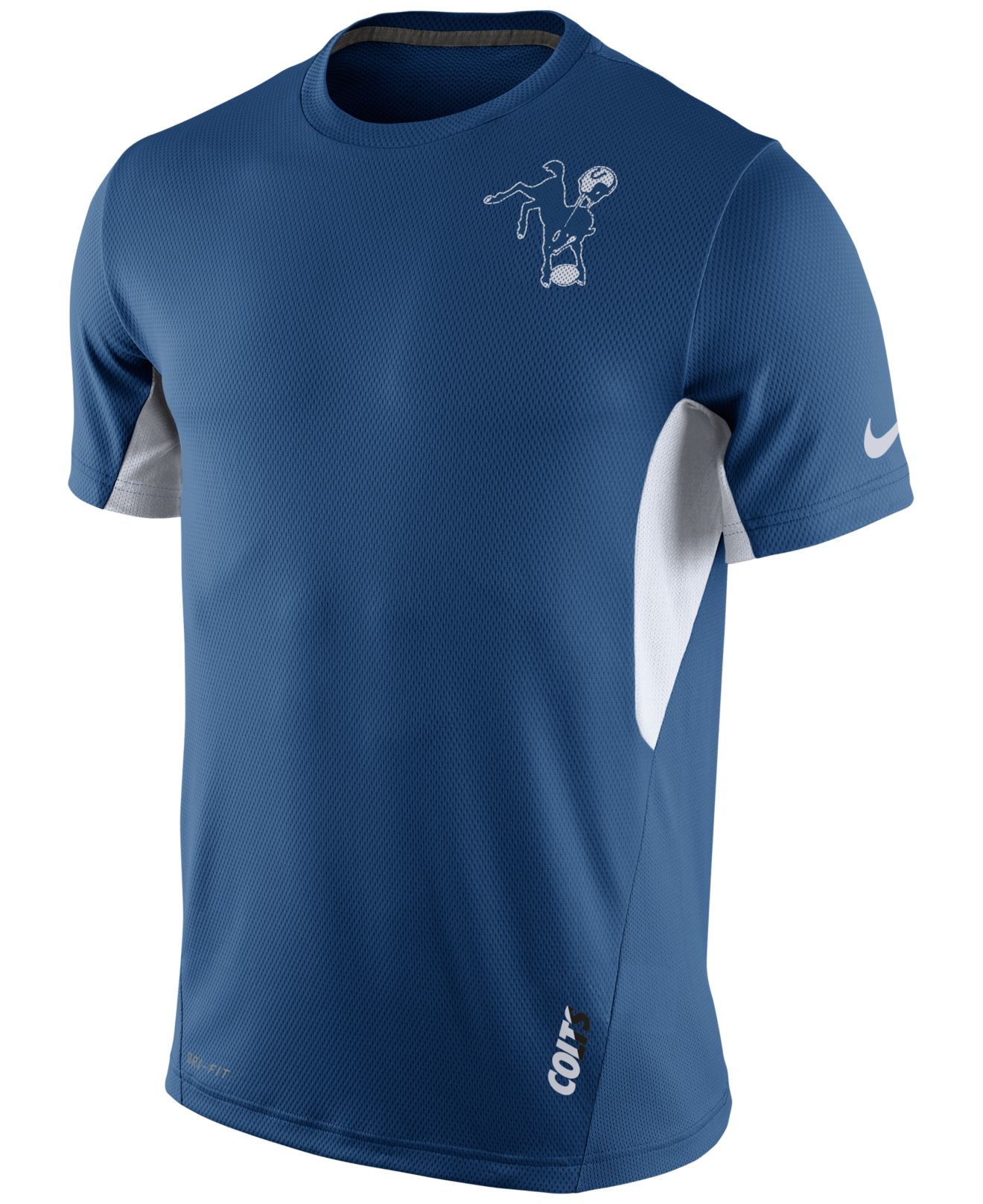 Nike Men 39 S Indianapolis Colts Vapor T Shirt In Blue For