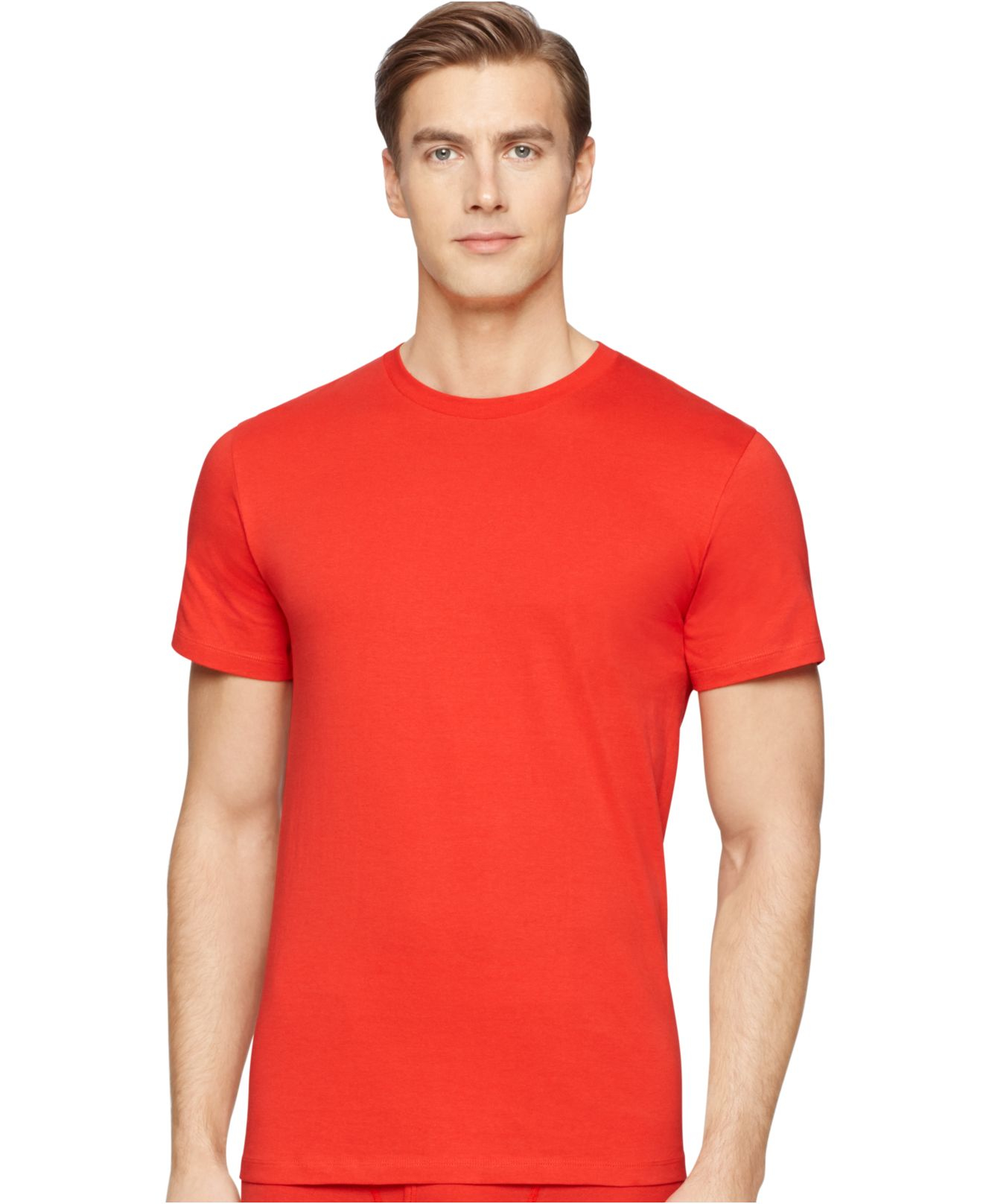 Calvin klein Men's Crew-neck T-shirt 3 1 Pack - A Macy's Exclusive ...