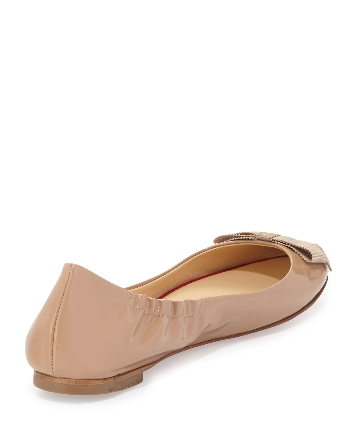 Christian Louboutin Patent Leather Ballet Flats