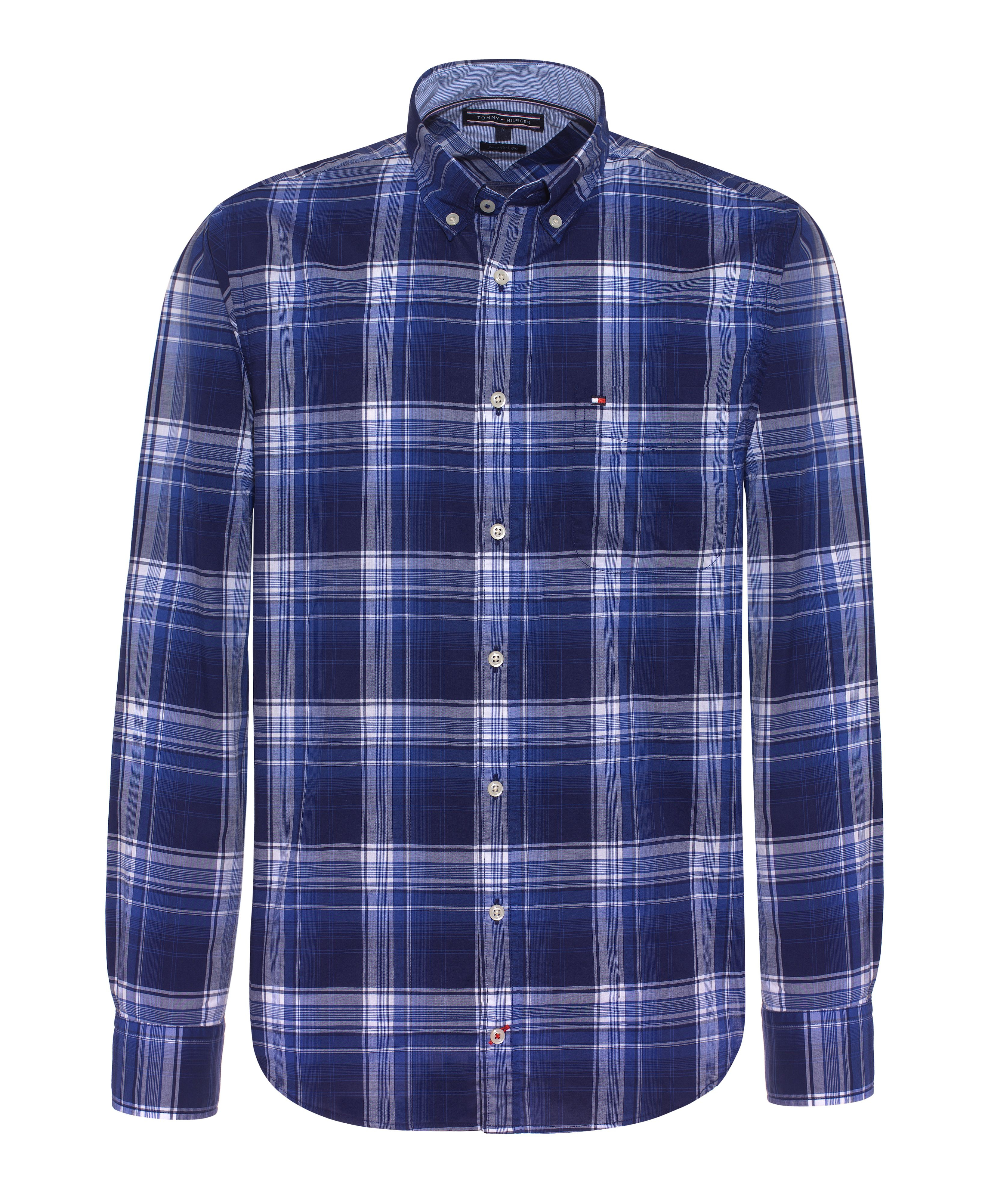 Tommy Hilfiger Camden Check Classic Fit Long Sleeve Shirt