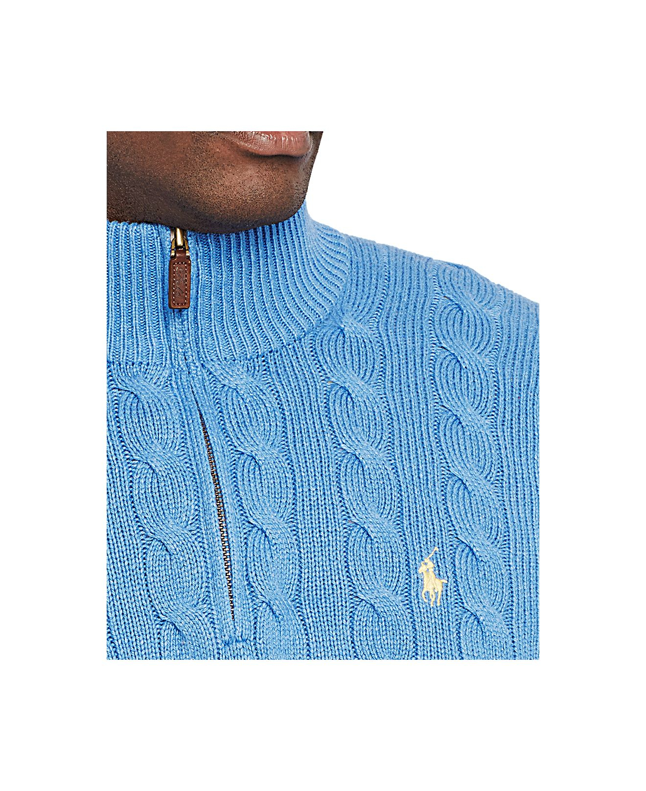 Lyst Polo Ralph Lauren Big And Tall Cable Knit Tussah