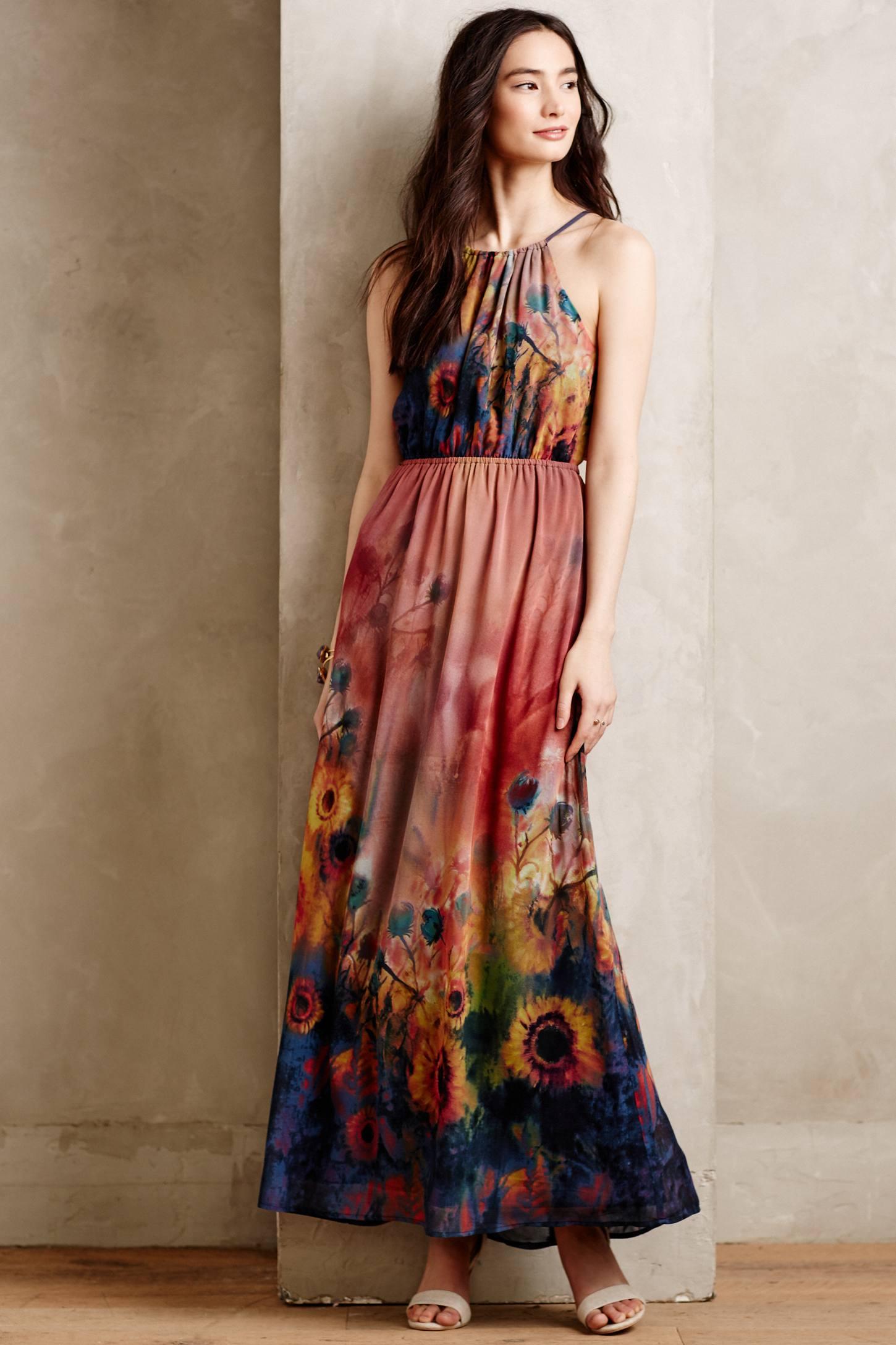 Maxi Dress Garden