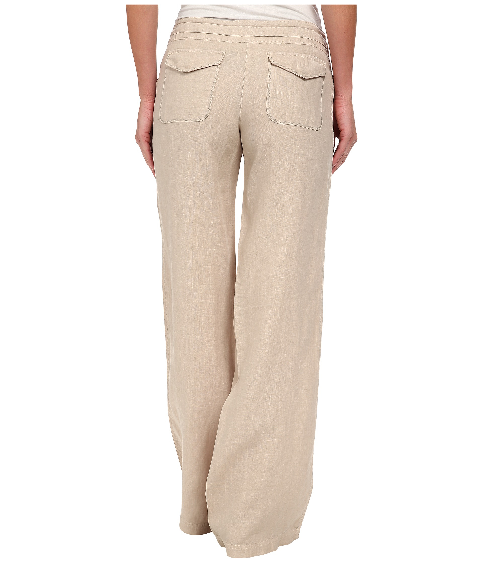 Tommy Bahama Two Palms Drawstring Pants In Natural Lyst