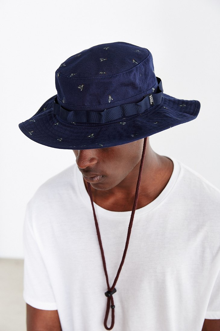 Lyst Vans Boonie Hat In Blue For Men
