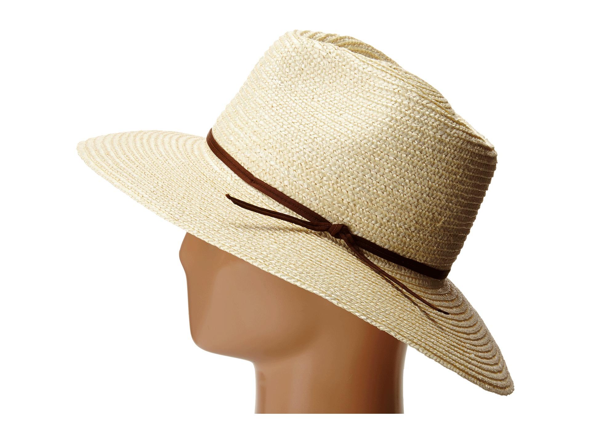 0695e4accb494 ... usa lyst brixton bristol hat in natural 49e73 c781e