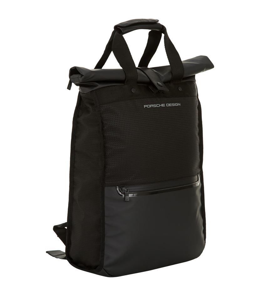 porsche design bounce backpack in black for men lyst. Black Bedroom Furniture Sets. Home Design Ideas