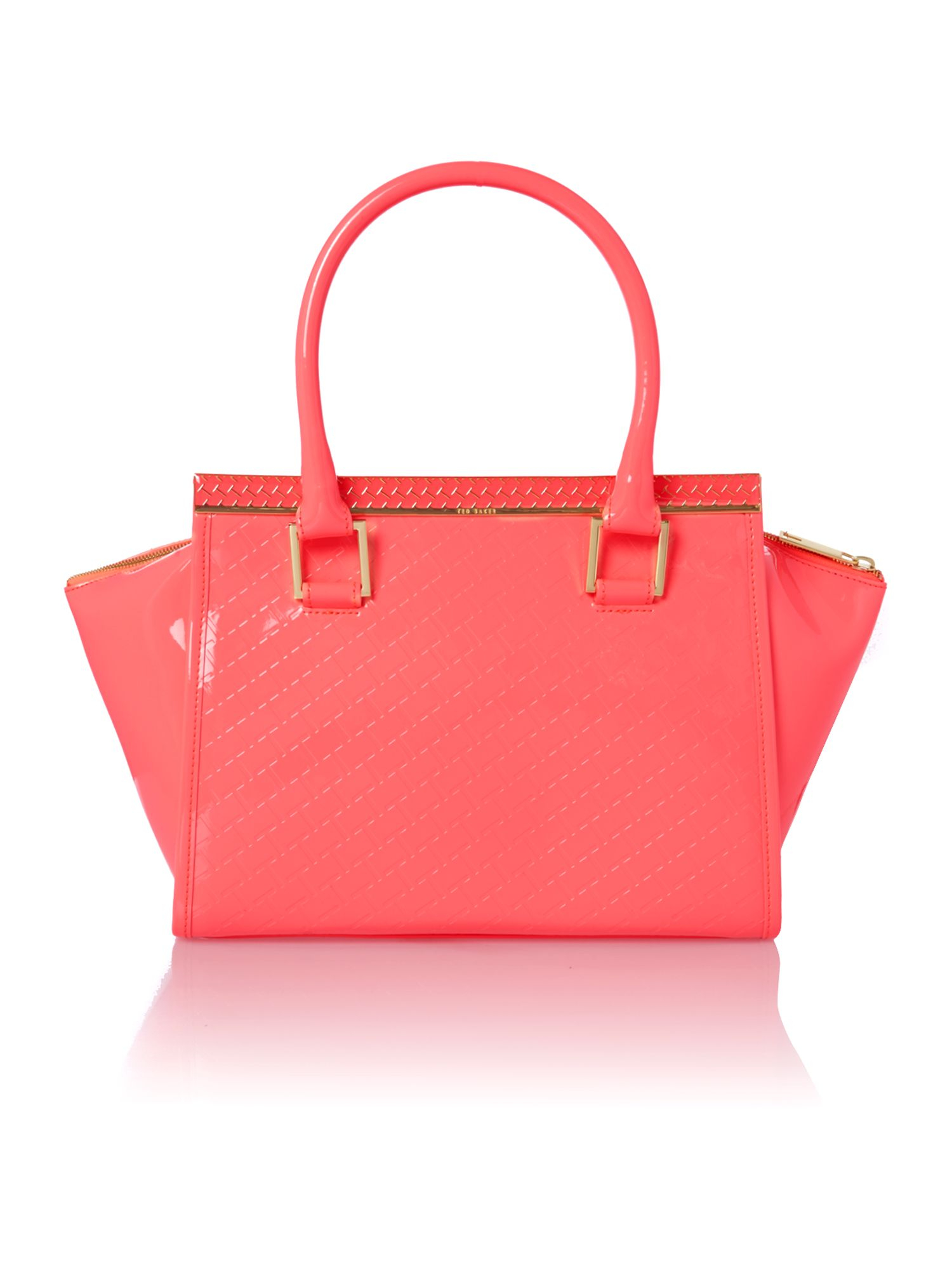 87657eba5ec4f Ted Baker Medium Pink Quilt Tote Bag in Pink