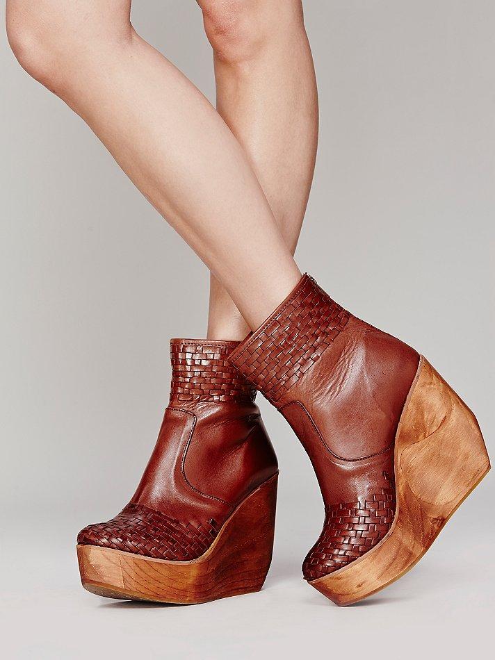 bed stu rys wedge boot in brown lyst