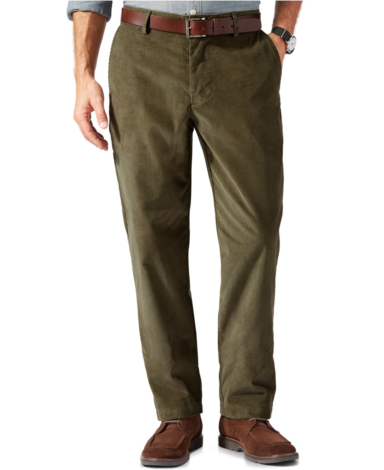 Buy Haggar Men's Life Khaki Corduroy Plain-Front Chino Pant and other Casual at bonjournal.tk Our wide selection is elegible for free shipping and free returns.4/5().