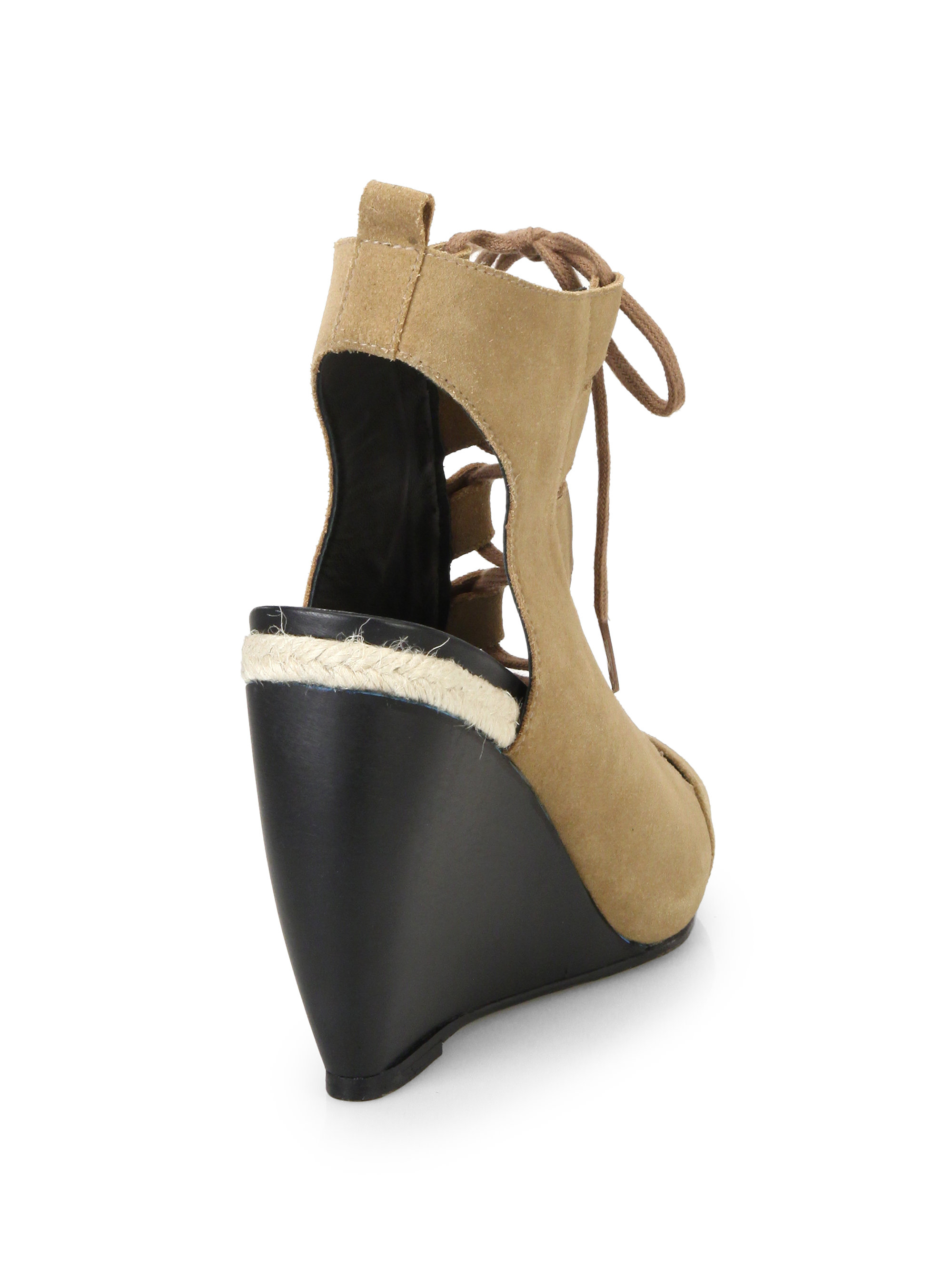 free shipping cheap real outlet online shop Pierre Hardy Platform Lace-Up Wedges footlocker pictures for sale amazing price cheap price shipping discount sale dHZTK