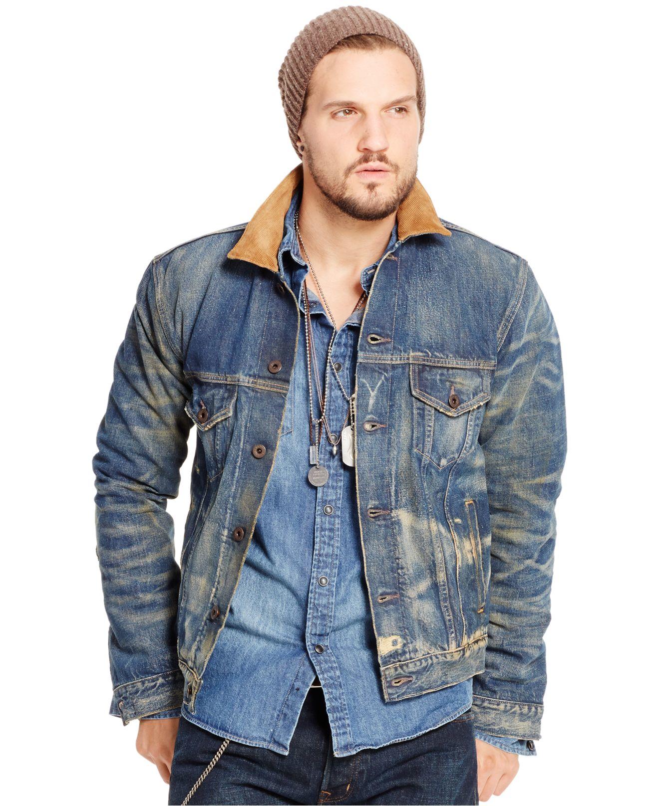 Denim & supply ralph lauren Austin Denim Trucker Jacket in Blue ...