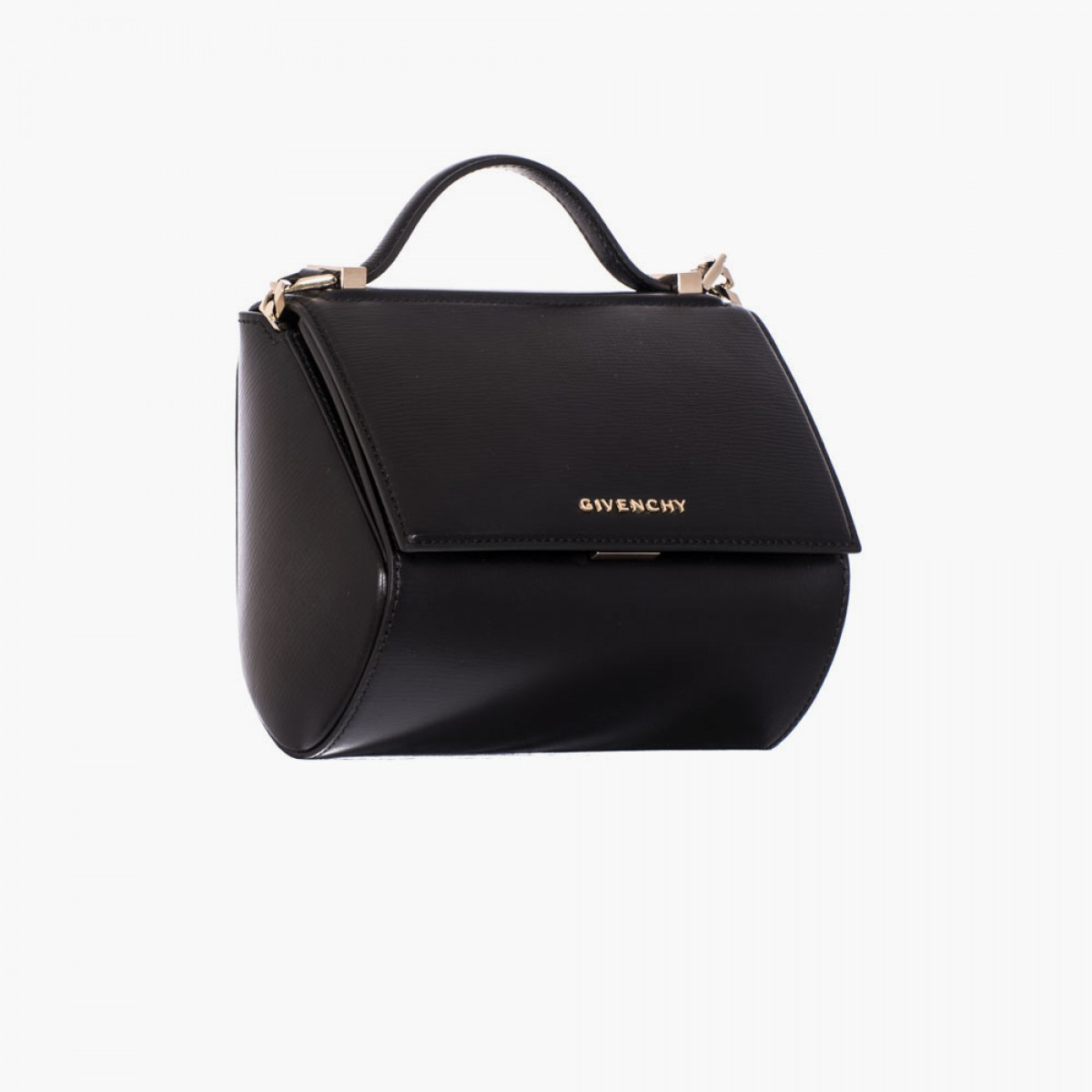 givenchy black leather quot pandora box chain quot mini bag in