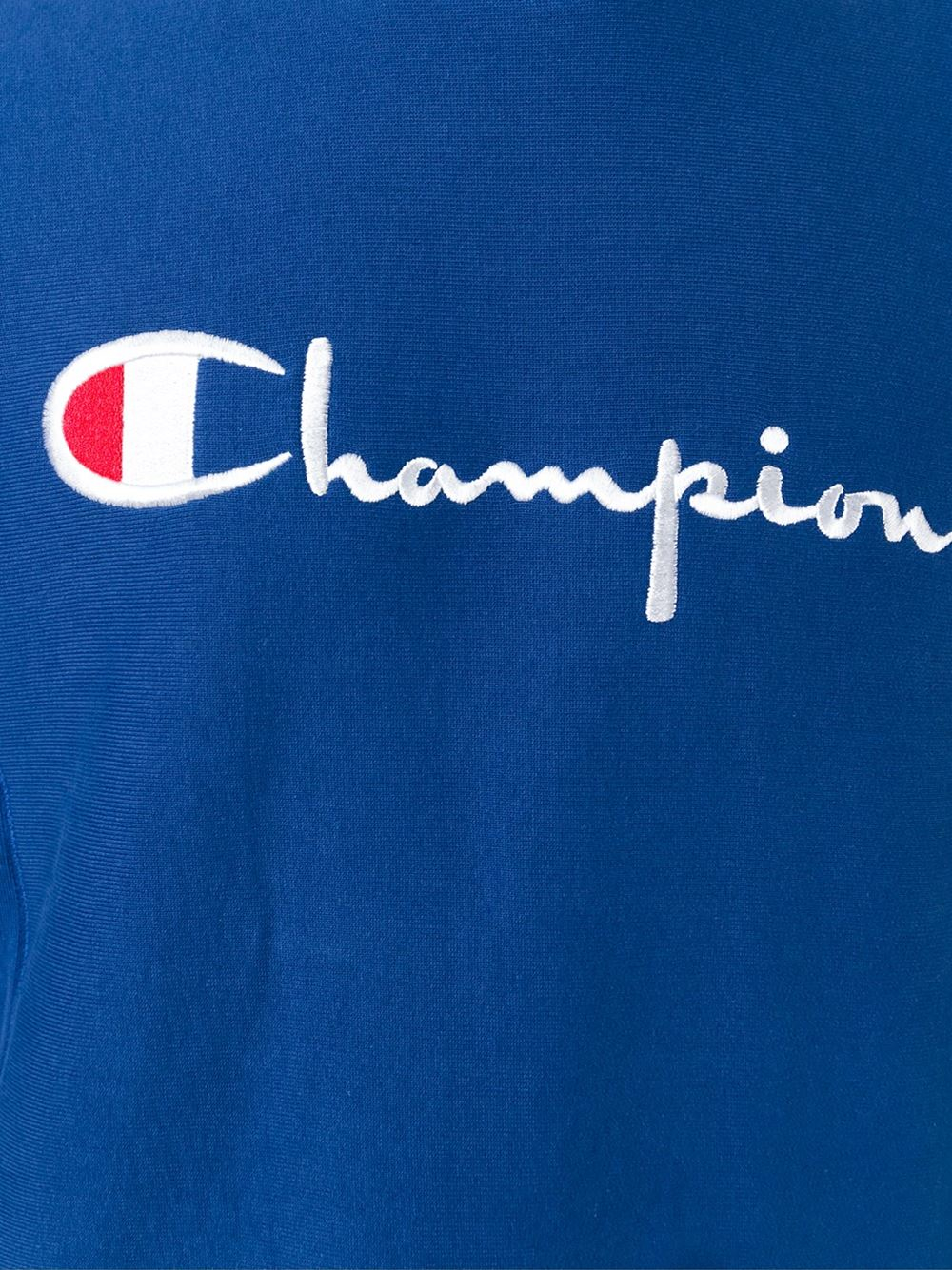 Champion Logo Embroidered Sweatshirt in Blue for Men | Lyst