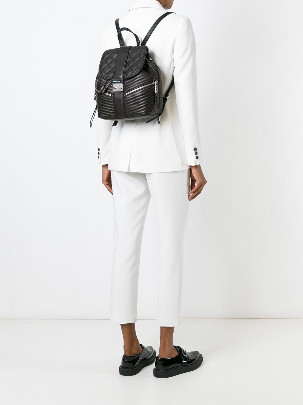 75cb3a0545c6 MICHAEL Michael Kors Elisa Small Backpack in Black - Lyst