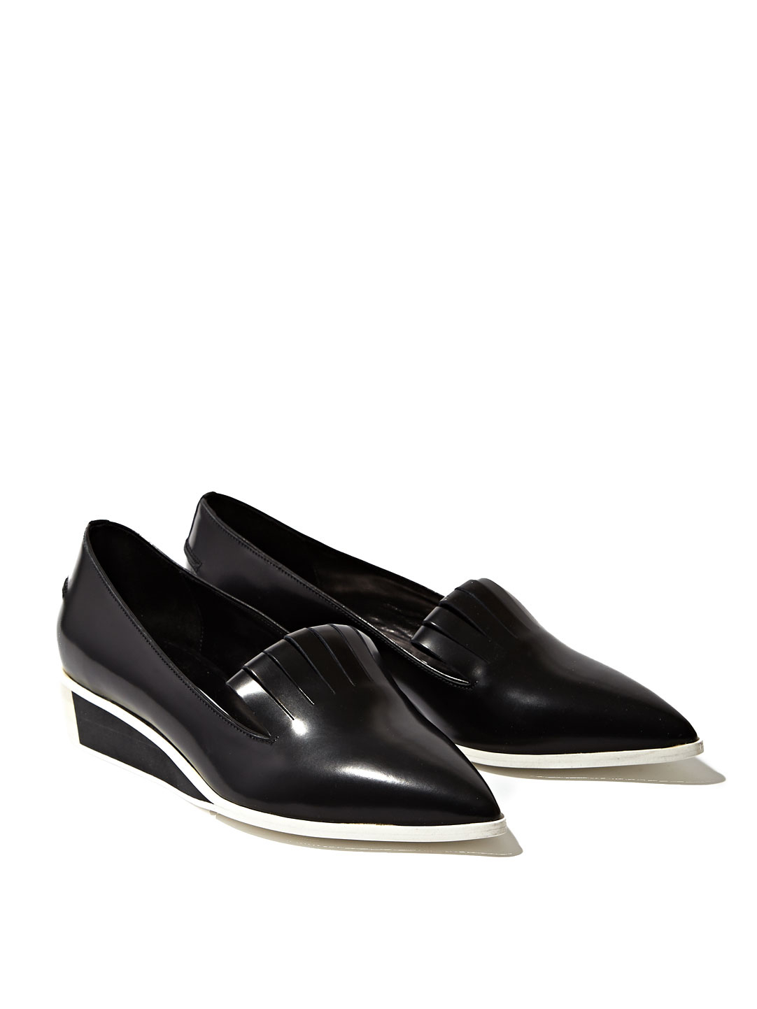 Lyst Acne Studios Philippa Flat Shoes In Black