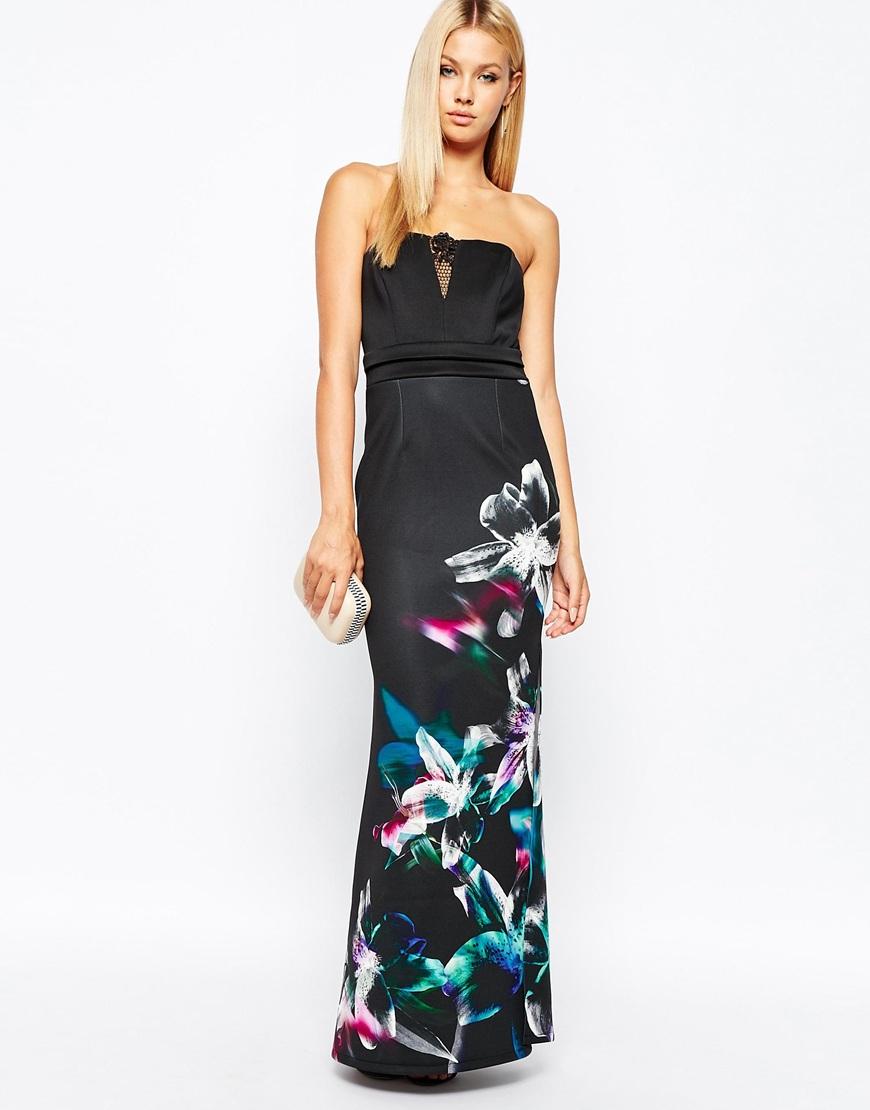 Lipsy | Lipsy Printed Bandeau Dress