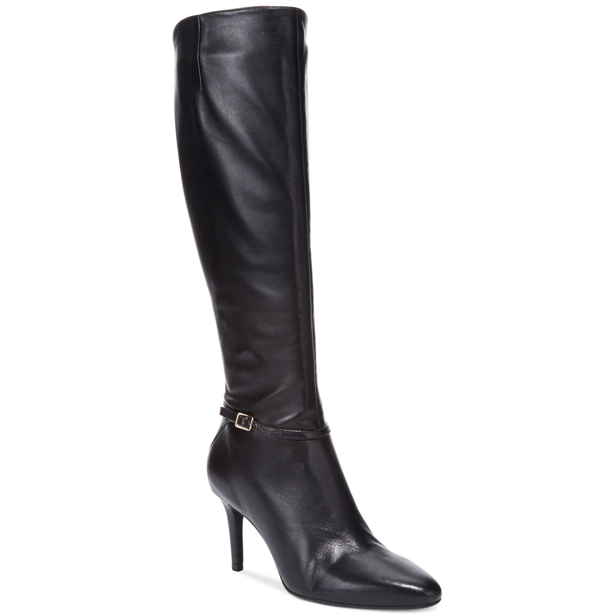 Cole Haan Women S Garner Wide Calf Tall Dress Boots In