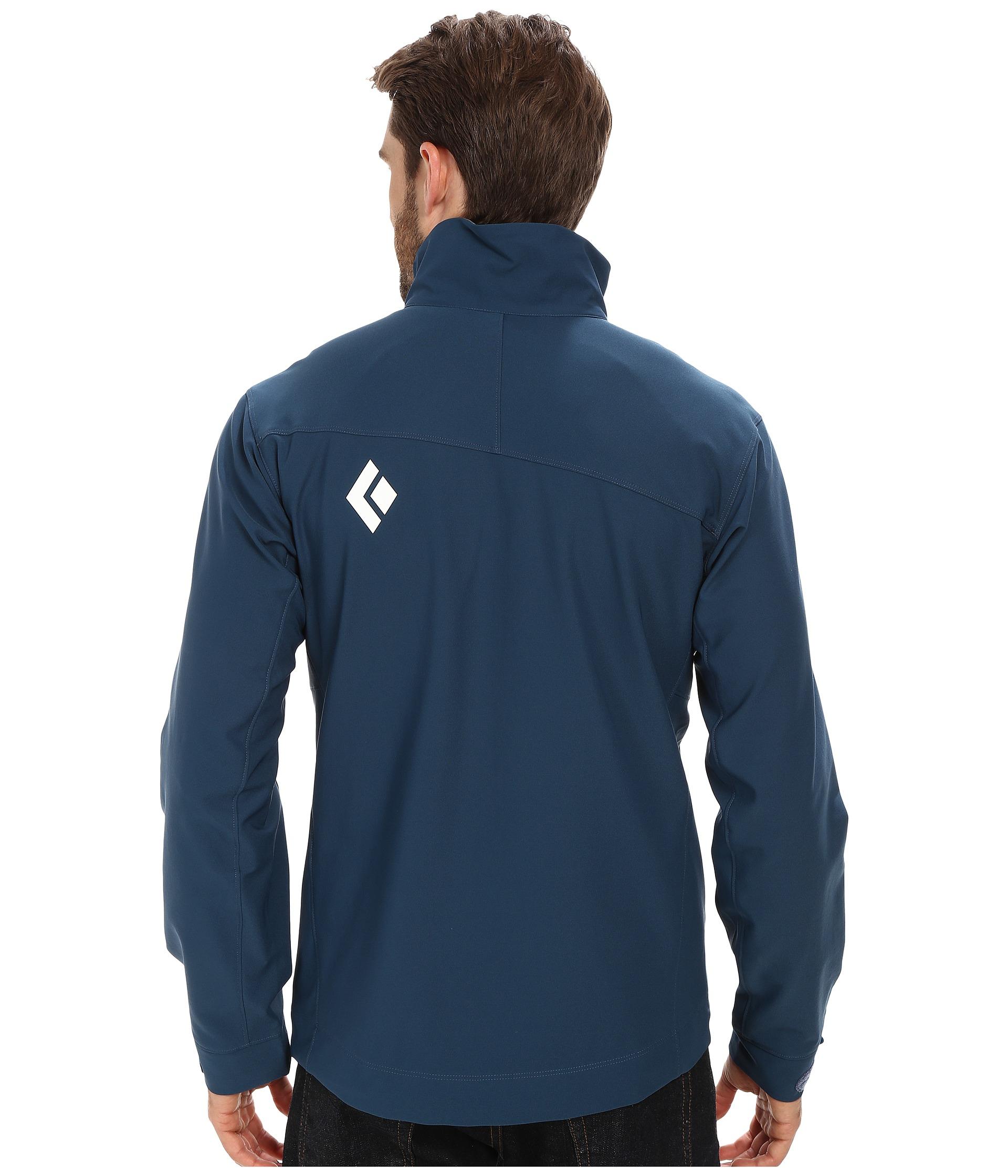 c1aafbbbcc57e Black Diamond B.D.V. Jacket in Blue for Men - Lyst
