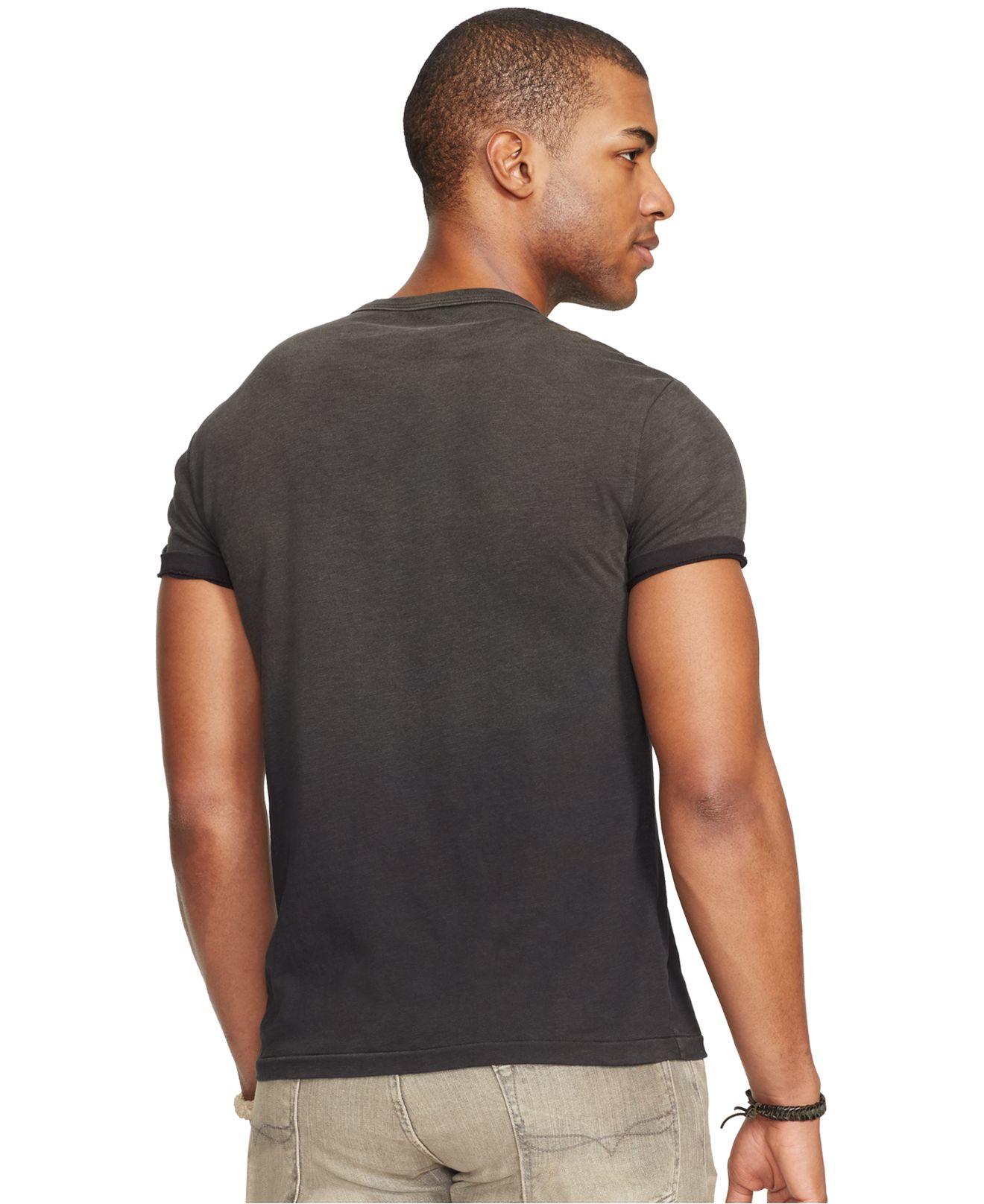polo ralph lauren jersey logo t shirt in black for men lyst. Black Bedroom Furniture Sets. Home Design Ideas
